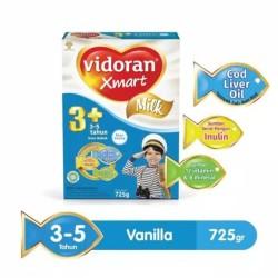 SUSU VIDORAN 1+ / 3+ XMART 725gr VANILA dan Madu tokojualanterus