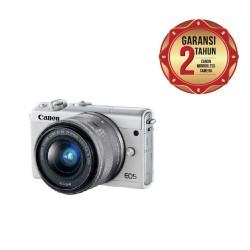 Canon EOS M100 Kit 15-45mm Kamera Mirrorless - White