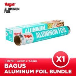 Bagus Aluminum Foil Box + Refill 30 cm x 7.62 m Set