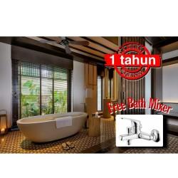 Bathtub Resin Terrazo TB_13 Size 165x80x46 cm