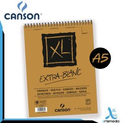 Canson A5 XL Sketch Extra White Pad