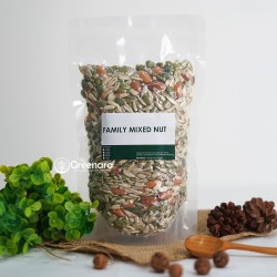 Family Mixed Nuts 500gr / almond / sunflower seed / pumpkin seed