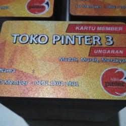 ID Card Murah (Silver)