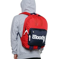 BLOODS Tas Bag Pack Wreck 02 Ransel Red Navy