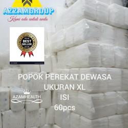 POPOK DEWASA MODEL PEREKAT uk XL isi 60pcs