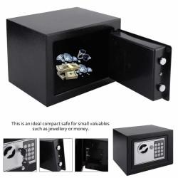 Brankas Mini Electric Password Safe Deposit Box 4.6L Bisa Masuk Tas
