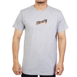 BLOODS Tshirt Kaos Fire 19 Misty Grey