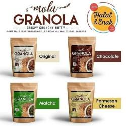 Granola Mola / Mola Granola 100 gr - Keju Parmesan
