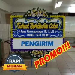 PROMO!!! Karangan Bunga Papan Duka Cita Papan Bunga Murah Jakarta