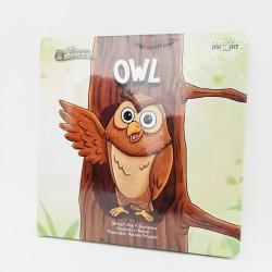 BBW SERI BINATANG OWL ENGLISH VERSION BOARDBOOK