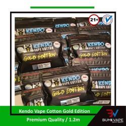 Kapas Kendo Japan Cotton / Gold Edition - AUTHENTIC