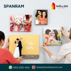 Cetak / Print Spanram Foto / Photo Kanvas / Canvas Rangka Kayu 30 x 40