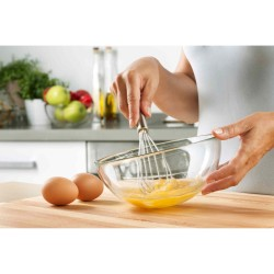 Whisk Pengocok Telur Stainless Kue Cake Whisker Hand Mixer egg beater