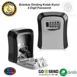 Kotak Brankas Dinding Key Storage Safety Box 4 Digit Password