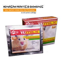 Yu-Milk Susu Hamster 10pcs x 10gr