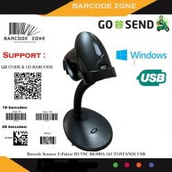 2D BARCODE SCANNER E-FAKTUR VSC BS-899(QR CODE-PDF 417-EFAKTUR) USB