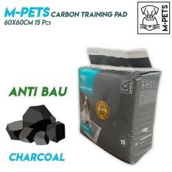 M-Pets Carbon Training Pads 60x60cm 15pcs / Alas Pipis Anjing