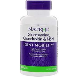 Natrol - Glucosamine Chondroitin & Msm 90 Tablets