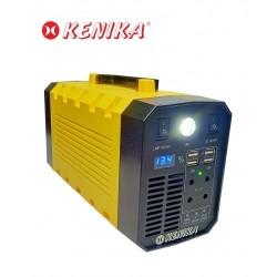 PORTABLE SOLAR POWER GENERATOR 600W KENIKA KLI-600AD