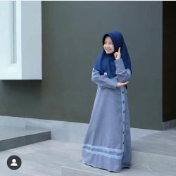 Promo Gamis Anak Perempuan usia 7-10th Murah Baju Muslim Modern