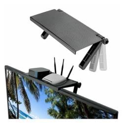 screen top shelf rack - rak tv atas - tv rack shelves