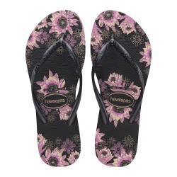 Havaianas Slim Organic Fc Black/Dark Grey/Rose Gold
