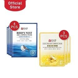 SNP 7 Days Gold Collagen Ampoule Mask Bundle