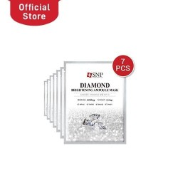 SNP 7 Days Diamond Brightening Ampoule Mask Bundle