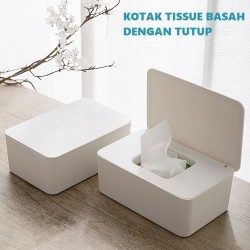Wet Tissue Box with Cover Kotak Tissue Basah dengan Tutup