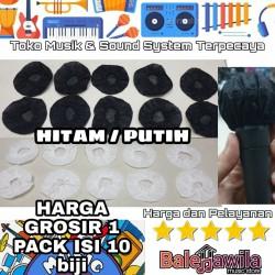 Kondom Mic Pop Mic Filter Pelindung Mic Cover Microphone ISI 10 BIJI