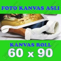 Foto Kanvas Asli Roll 60x90
