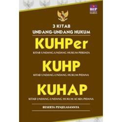 3 Kitab Undang-undang Hukum,KUHper, KUHP, KUHAP