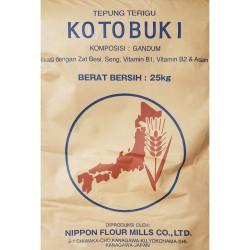 Tepung terigu protein rendah Kotobuki repack 1 kg