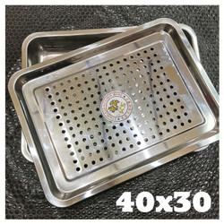 Food Drying Tray / Cooling tray Nampan Tirisan Minyak Stainless 40x30
