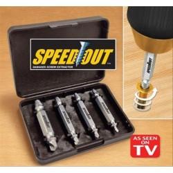 Alat Buka Pembuka Baut Dol Rusak Mata Obeng Patah Speedout Screwdriver