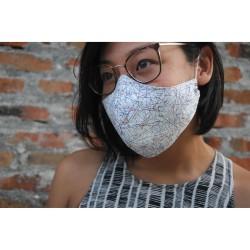 masker kain non-medis tenun dewasa anak handmade reusable nyaman