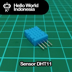 Sensor Suhu DHT11 - Digital Temperature Humidity Sensor