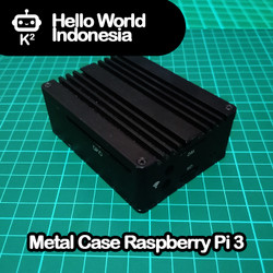 Metal Case Raspberry Pi 3 Model B/B+
