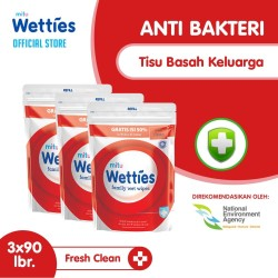 Mitu Wetties Antiseptic Refill 90'S - 3pcs