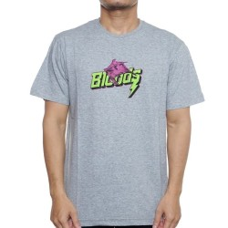BLOODS Tshirt Kaos Bat 09 Grey