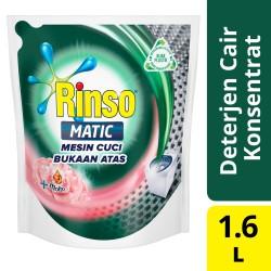 Rinso Matic Detergen Deterjen Cair Mesin Bukaan Atas 1600Ml