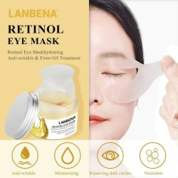 LANBENA EYE MASK RETINOL - MASKER MATA ANTI WRINKLE & FIRM LIFT