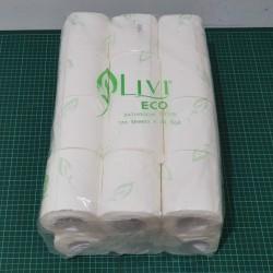 Tissue LIVI Roll Thailand 170s (Tisu Roll) 1PACK isi 24Roll
