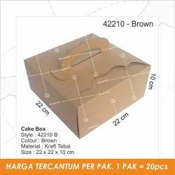Packaging, Dus Kue, Box Kue, Gift Box, Cake Box,Kotak Kue TC - 42210 B
