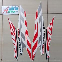 Striping Sticker Motor Honda Vario 150 Sporty 2020 Putih