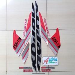 Striping Stiker Motor Yamaha Aerox 155 2018 Merah