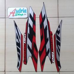 Striping Stiker Motor Honda Vario 150 Sporty 2020 Hitam
