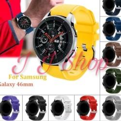 Strap Silicone Karet Band Samsung Galaxy Watch 46mm SM R800 Tali Jam