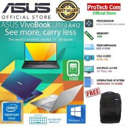 """LAPTOP ASUS A412FA - INTEL PENTIUM GOLD 5405U 4GB 512GB SSD 14"""" W10"""