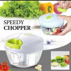 Blender Tangan Tarik Manual Speedy Chopper Alat Pencacah Bumbu Dapur